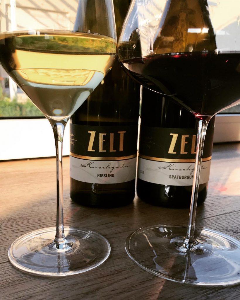 Hat eigentlich mit jedem Wein gepunktet: Weingut Mario Zelt.